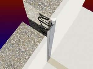 23_W-070-3D  Profile dilatatie pentru perete si tavane 23 W 070 3D