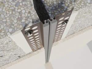 318-030_3D  Profile dilatatie pentru perete si tavane 318 030 3D