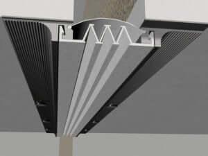 324-Ss-3D  Profile dilatatie pentru perete si tavane 324 Ss 3D