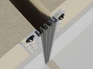 326-050-3D  Profile dilatatie pentru perete si tavane 326 050 3D