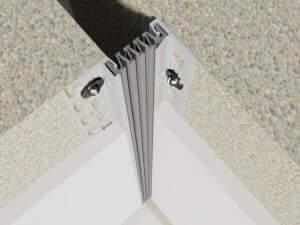 326-050-3D-Eck  Profile dilatatie pentru perete si tavane 326 050 3D Eck