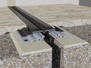 Profil de dilatatie impermeabil  Profile dilatatie cu proprietati de impermeabilizare 500 Na 050 3D