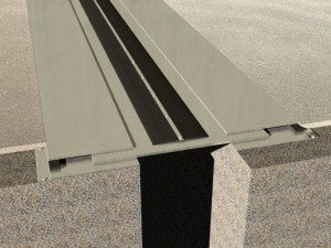 Profil dilatatie seismic  Profile dilatatie pentru  rosturi la pardoseala 870 3D