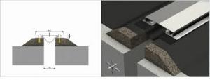 Profil acoperis  Profile dilatatie pentru rosturi acoperis si terase impermeabile Profil acoperis