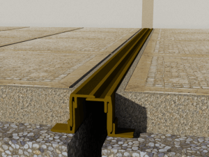 Profil pentru terase si camere cu umiditate ridicata  Profile dilatatie pentru  rosturi la pardoseala Profil pentru terase si camere cu umiditate ridicata