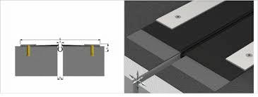 Profil acoperis  Profile dilatatie pentru rosturi acoperis si terase impermeabile profil acoperis 51