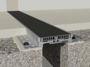 Profile dilatatie pentru un rost de 100 de mm la pardoseala-Profil incastrat  Promotii 446 c 100