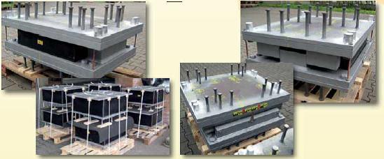 suporti elastomerici Suporţi elastomerici întăriţi cu structuri de limitare Aparate reazem