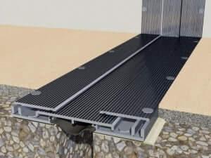 Profil aluminiu rost dilatatie