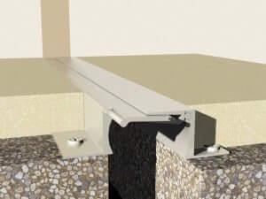 Profile dilatatie aluminiu de pardoseala  Profile dilatatie pardoseli industriale Profile dilatatie aluminiu de pardoseala