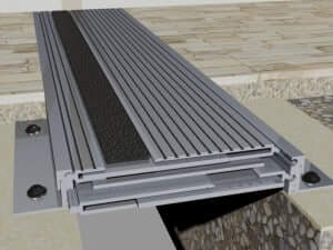profil dilatatie seismic aluminiu integral