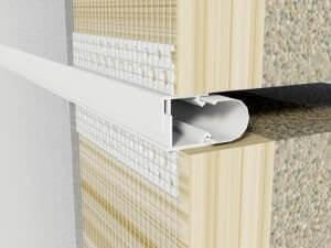 profil dilatatie termosistem  Profile dilatatie perete si tavane profil dilatatie termosistem