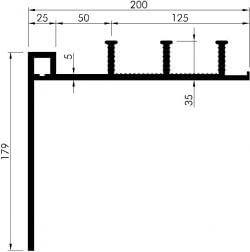 profil etansare de colt 330 35
