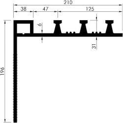 profil etansare de colt AM350 K