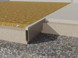 profile dilatatie PVC  Rosturi beton profile dilatatie PVC