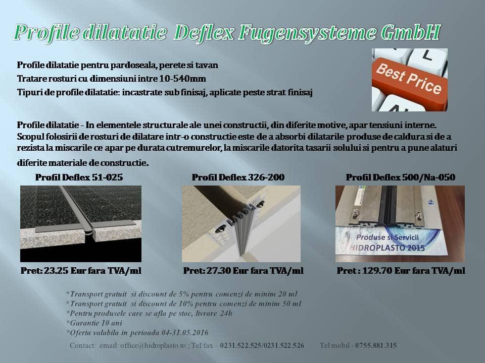 Oferta promotionala Hidroplasto